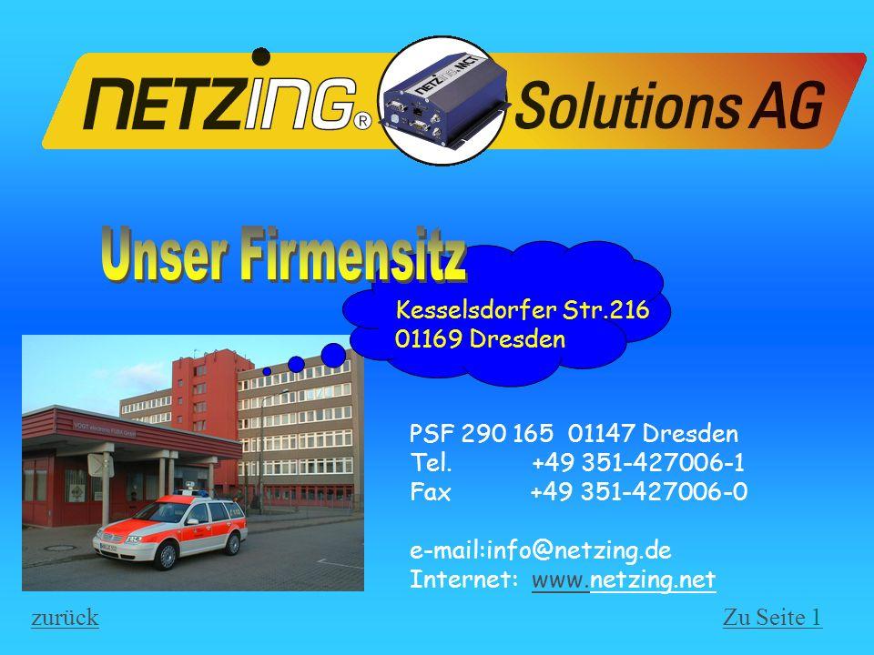 Unser Firmensitz Kesselsdorfer Str.216 01169 Dresden