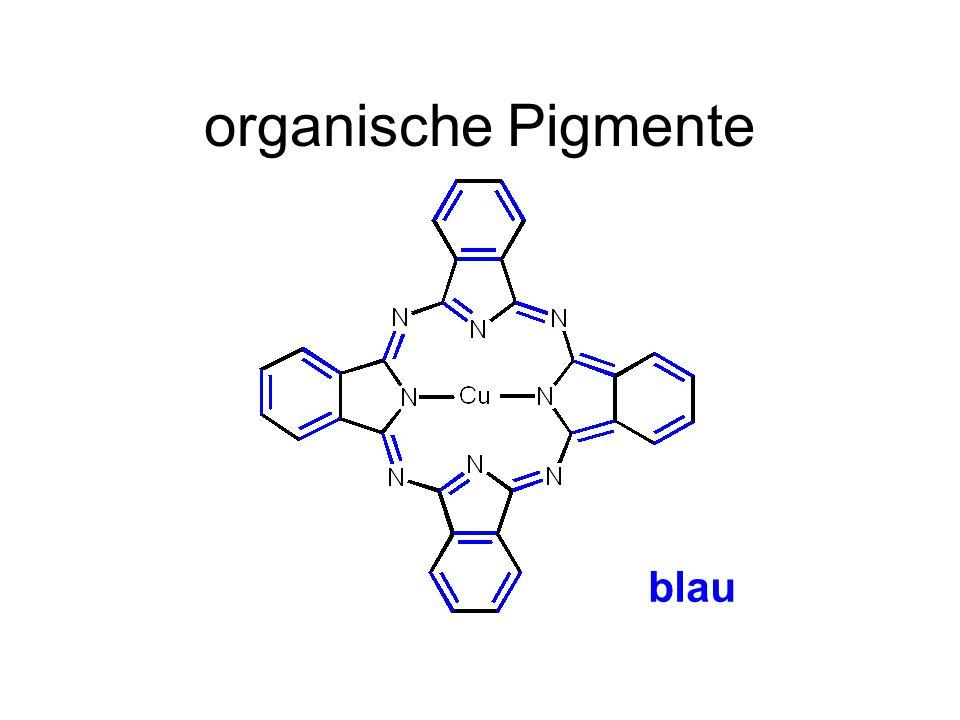organische Pigmente blau