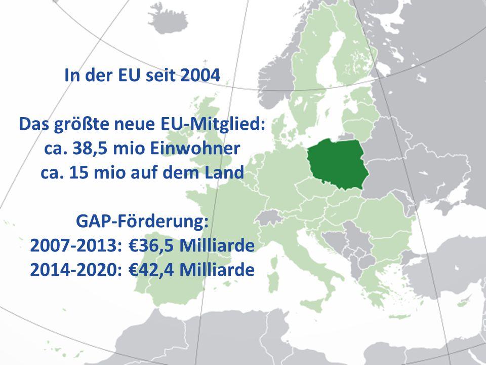 Das größte neue EU-Mitglied: