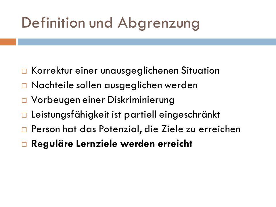 Definition und Abgrenzung