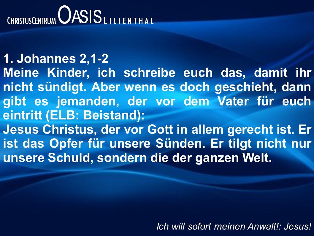 1. Johannes 2,1-2