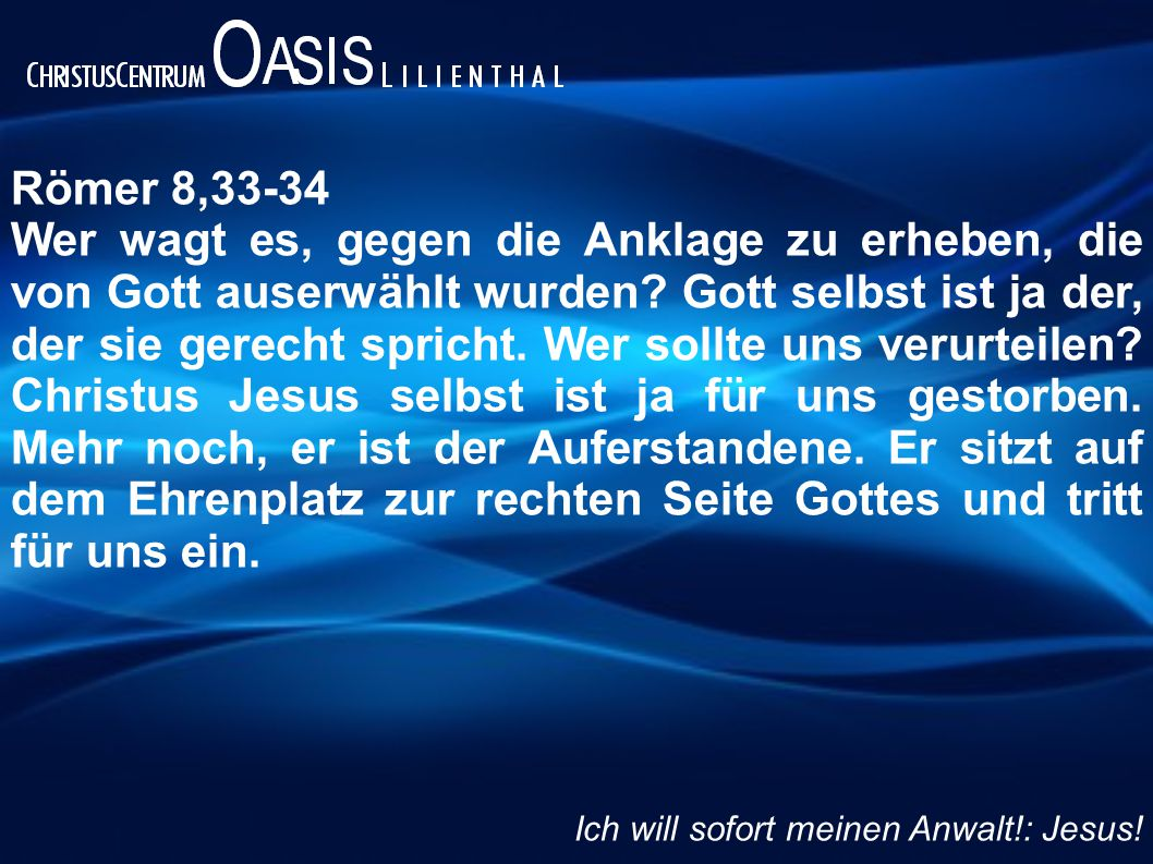 Römer 8,33-34