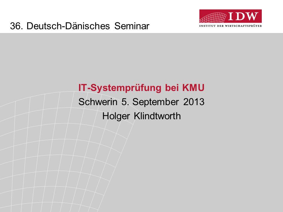 36. Deutsch-Dänisches Seminar