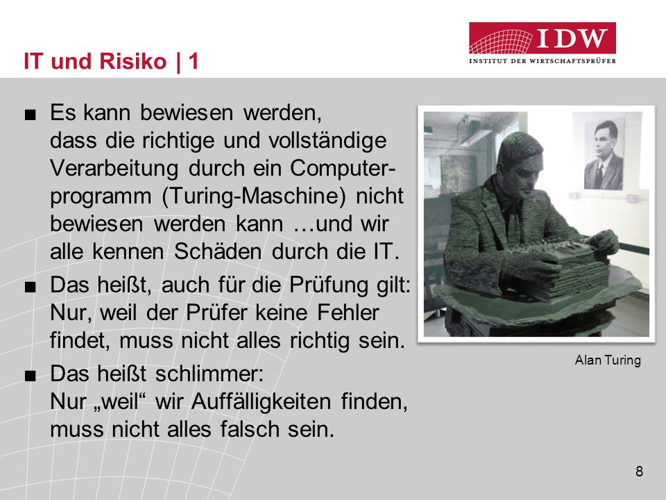IT und Risiko | 1