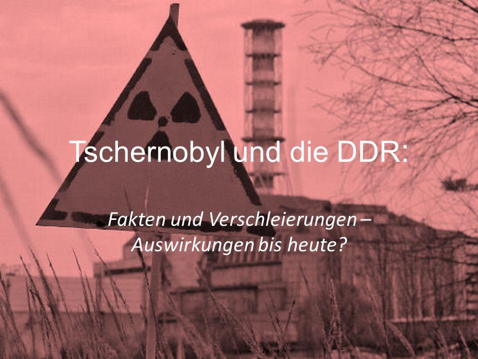 Tschernobyl und die DDR: