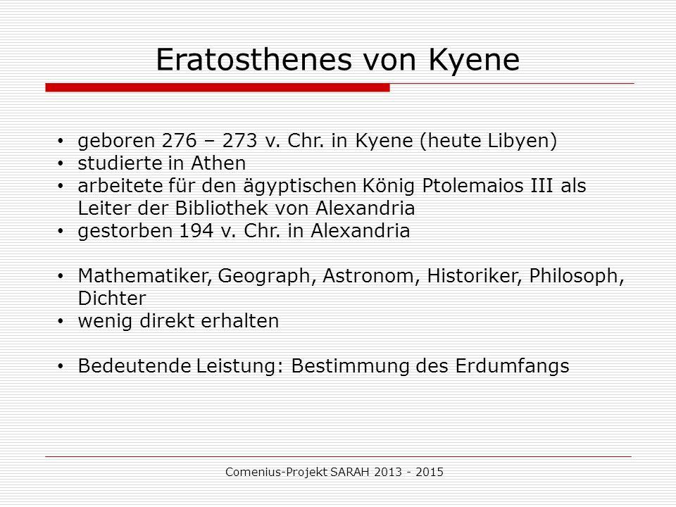 Eratosthenes von Kyene