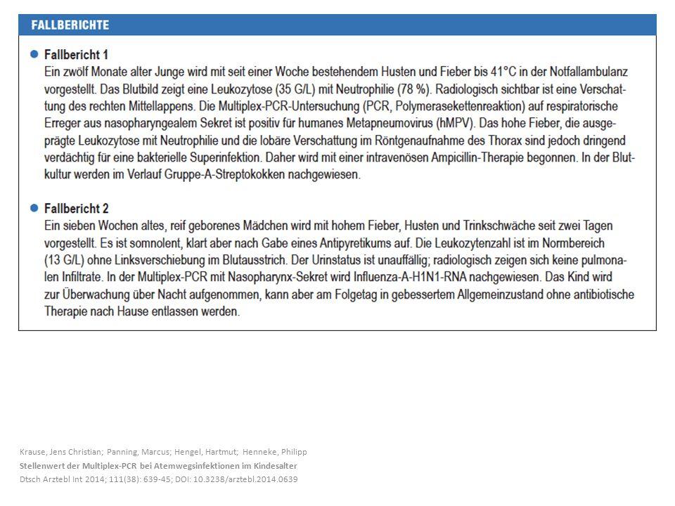 Krause, Jens Christian; Panning, Marcus; Hengel, Hartmut; Henneke, Philipp