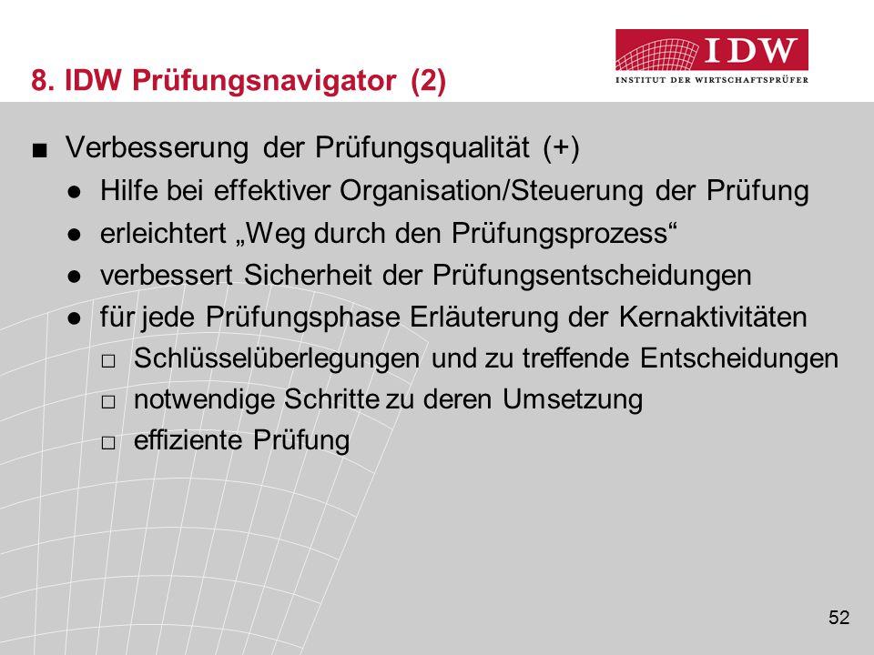 8. IDW Prüfungsnavigator (2)