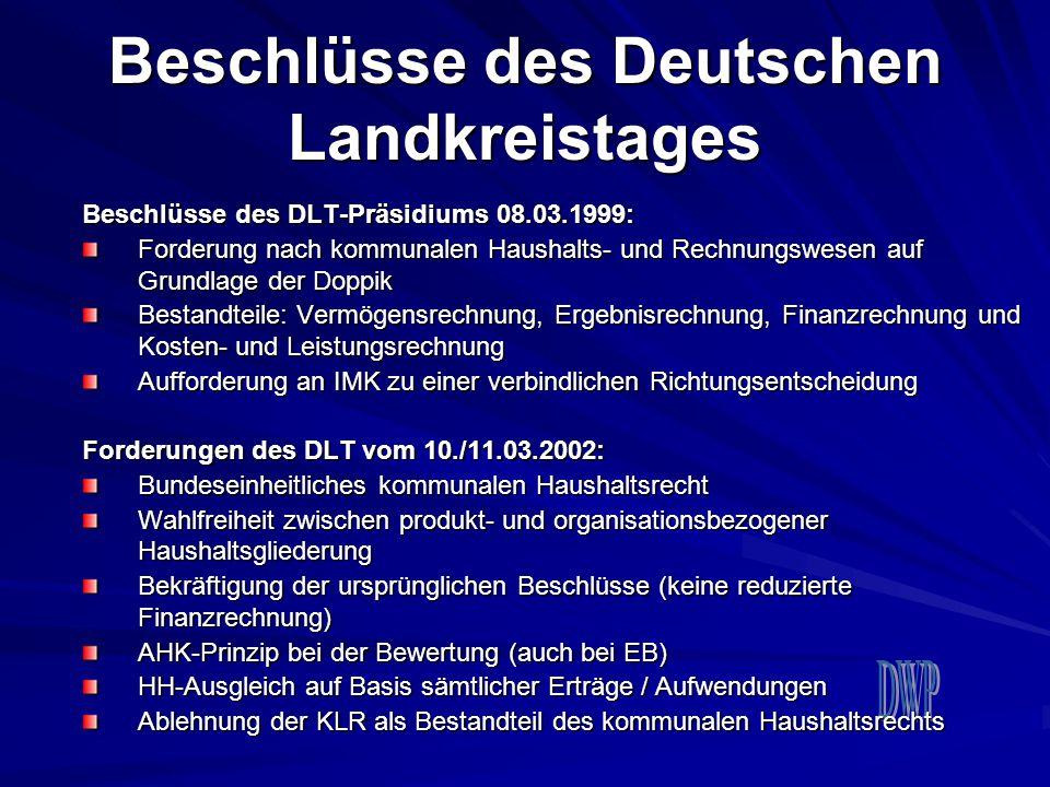 Beschlüsse des Deutschen Landkreistages