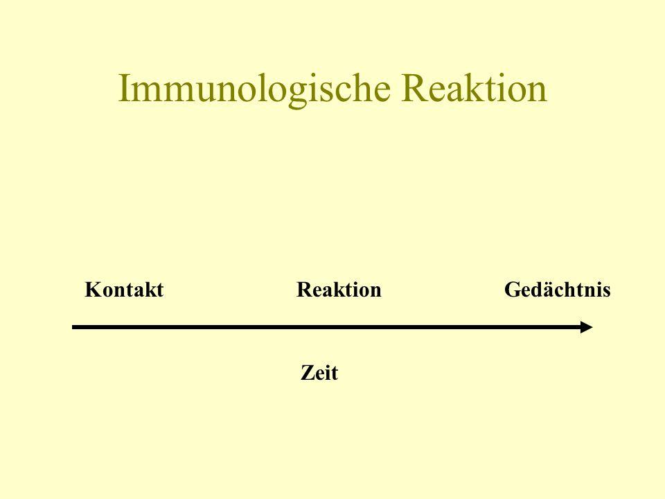 Immunologische Reaktion