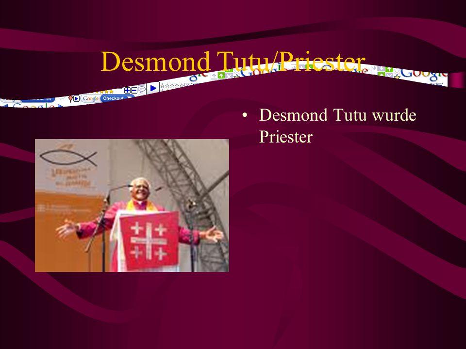 Desmond Tutu/Priester