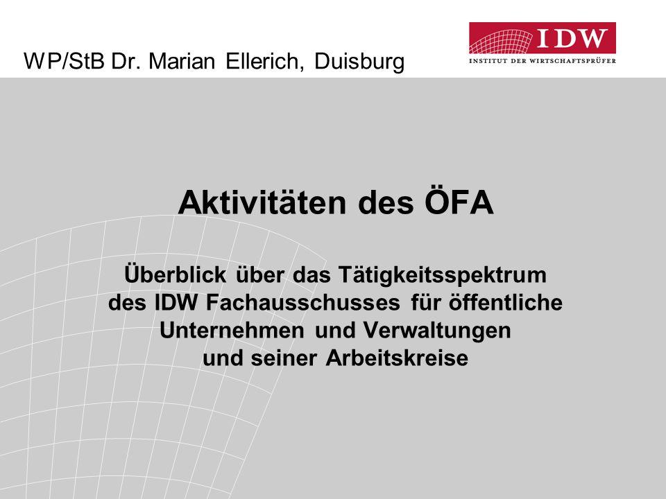 WP/StB Dr. Marian Ellerich, Duisburg