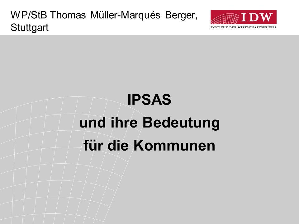WP/StB Thomas Müller-Marqués Berger, Stuttgart