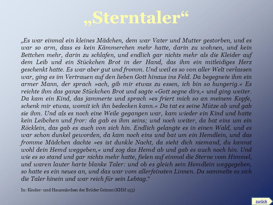 """Sterntaler"