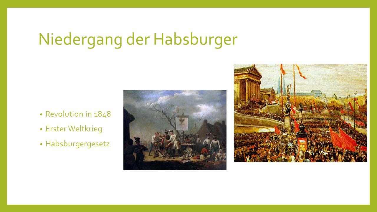 Niedergang der Habsburger
