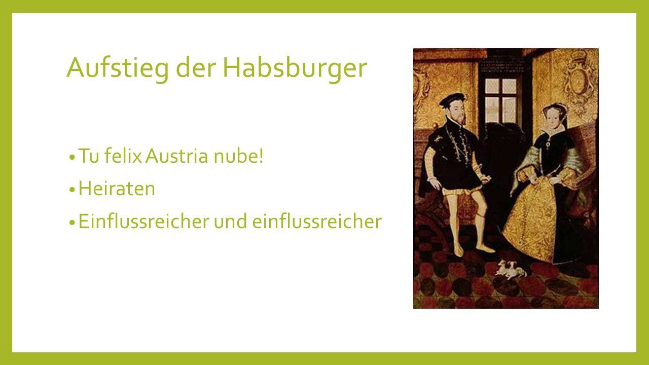 Aufstieg der Habsburger