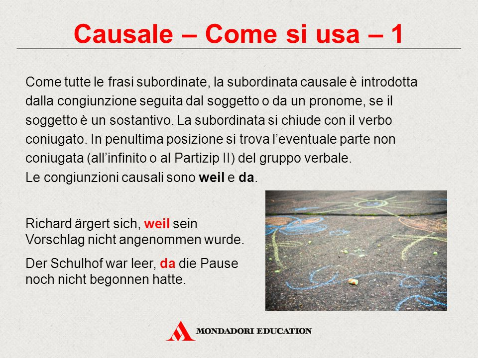 Causale – Come si usa – 1