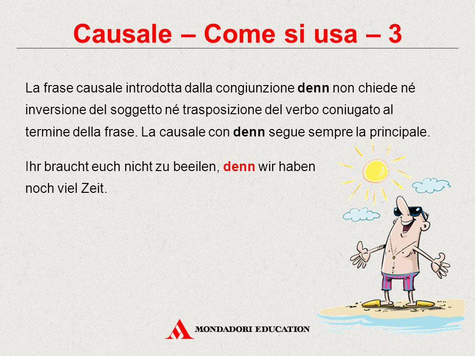 Causale – Come si usa – 3