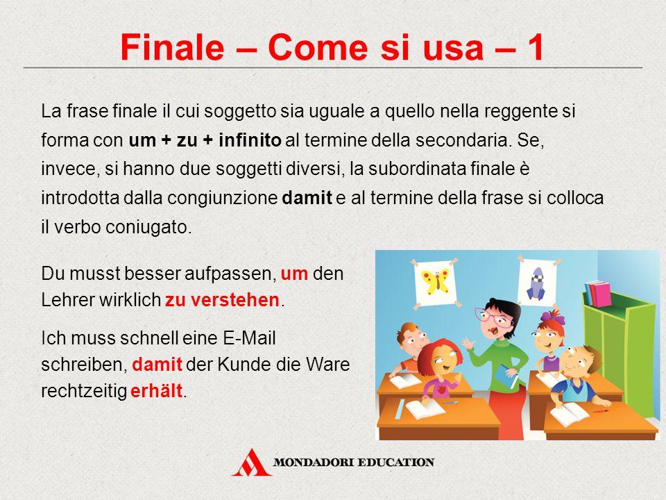 Finale – Come si usa – 1