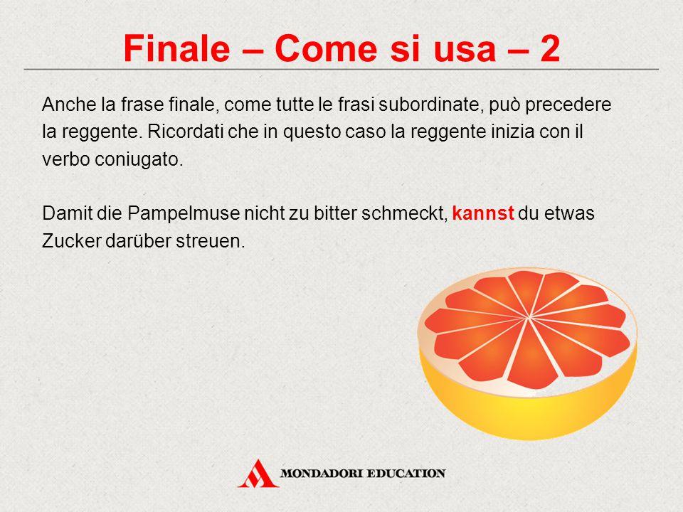 Finale – Come si usa – 2