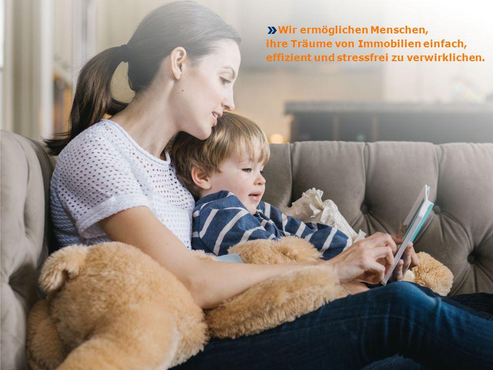 Wir ermöglichen Menschen, ihre Träume von Immobilien einfach, effizient und stressfrei zu verwirklichen.