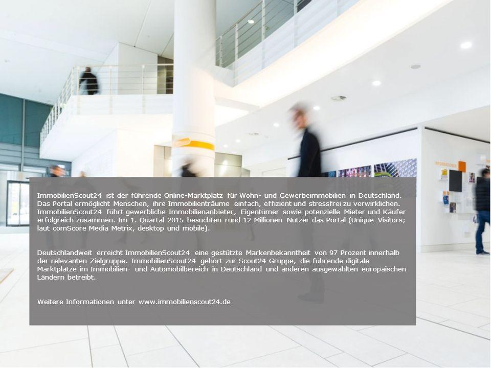 Weitere Informationen unter www.immobilienscout24.de
