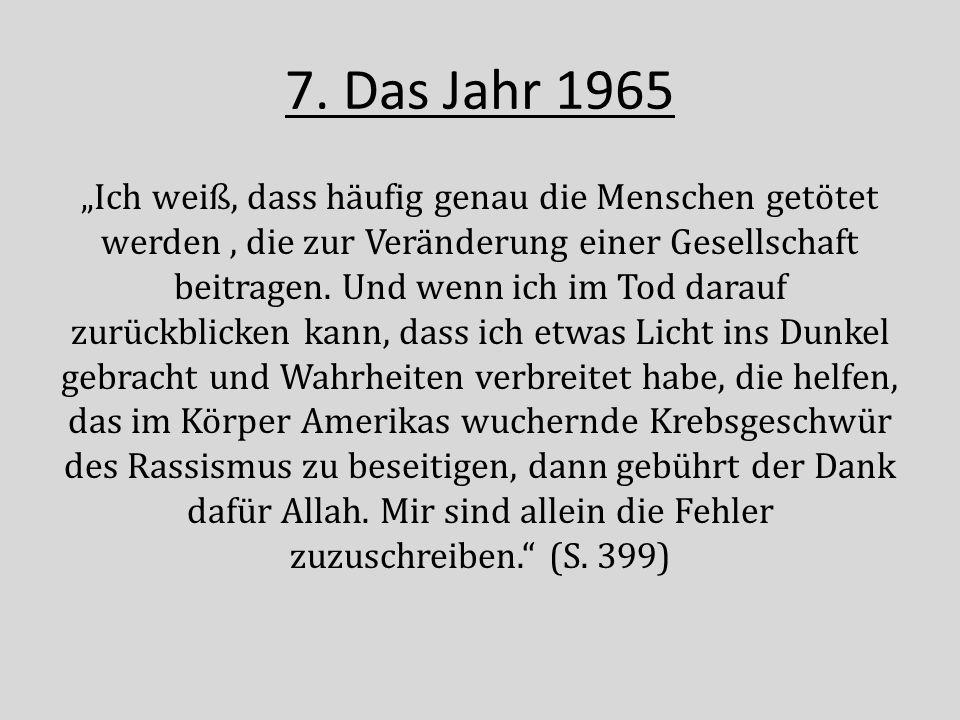 7. Das Jahr 1965