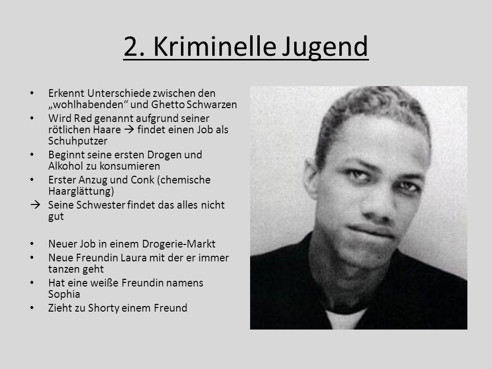 """2. Kriminelle Jugend Erkennt Unterschiede zwischen den """"wohlhabenden und Ghetto Schwarzen."""