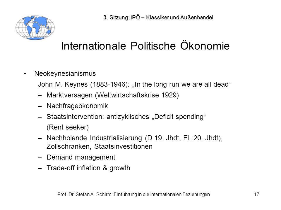 Internationale Politische Ökonomie