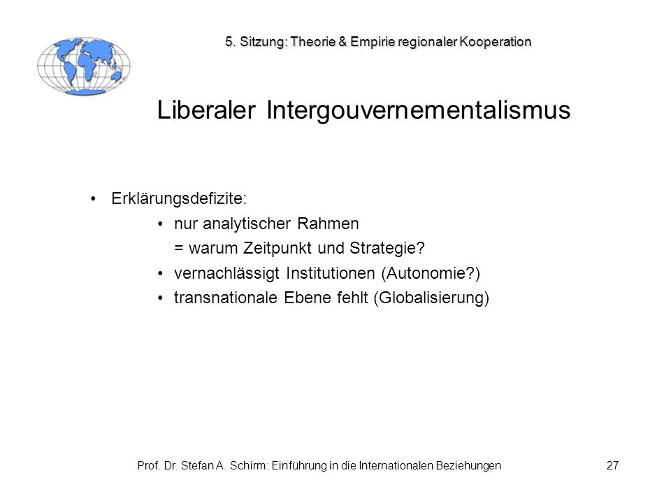 Liberaler Intergouvernementalismus