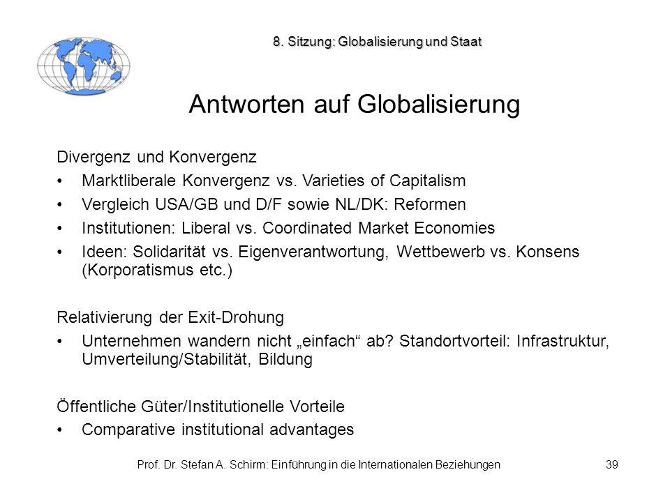 Antworten auf Globalisierung