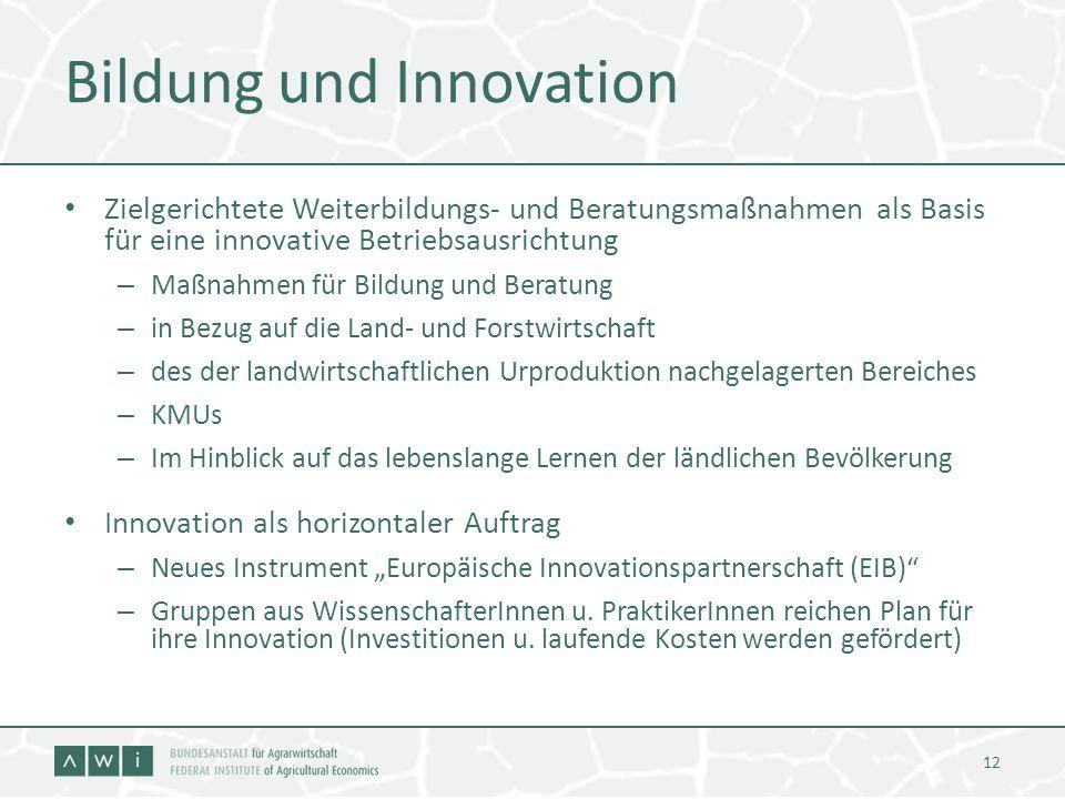 Bildung und Innovation