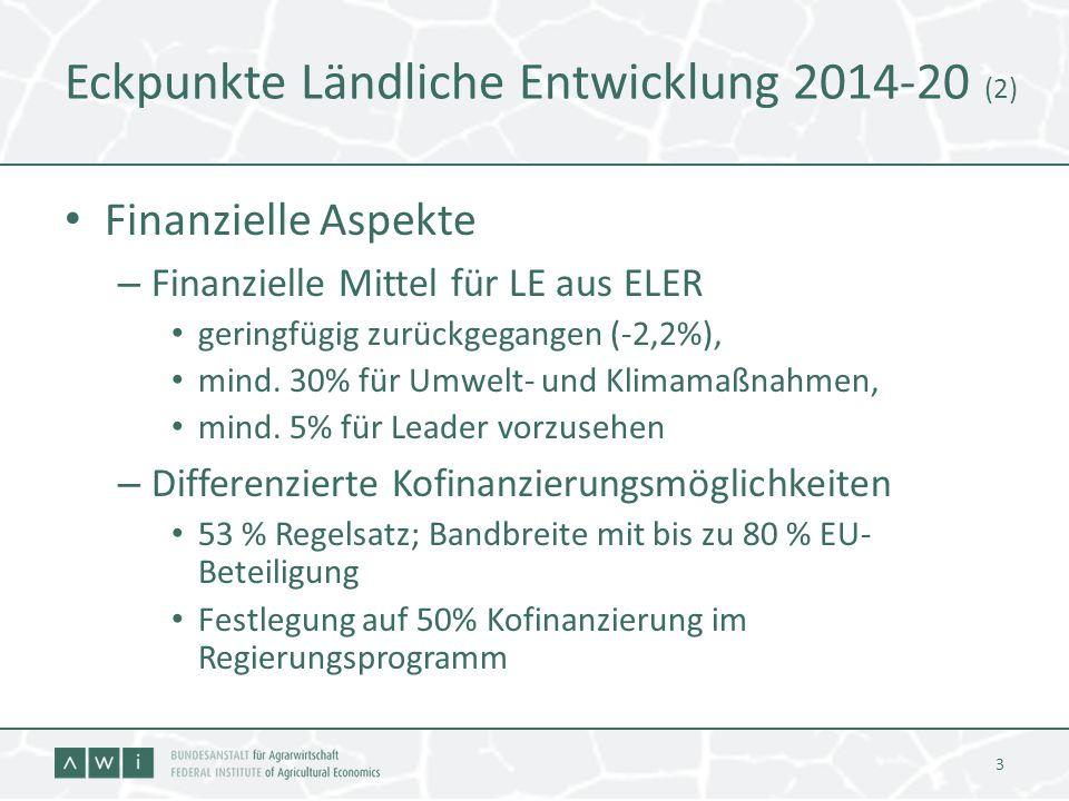 Eckpunkte Ländliche Entwicklung 2014-20 (2)