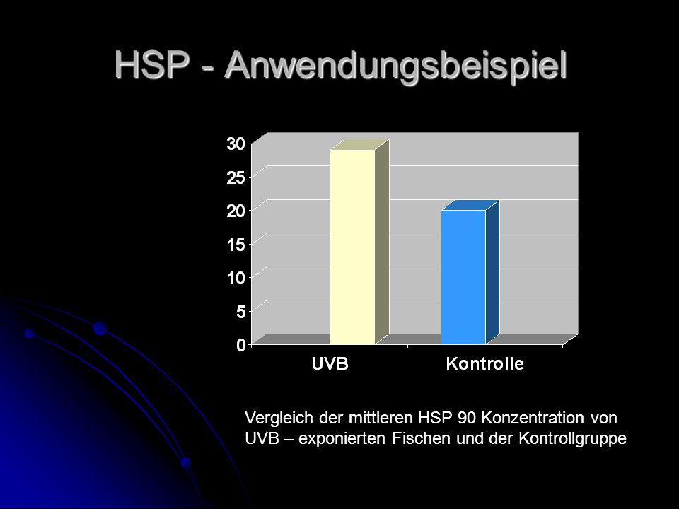 HSP - Anwendungsbeispiel