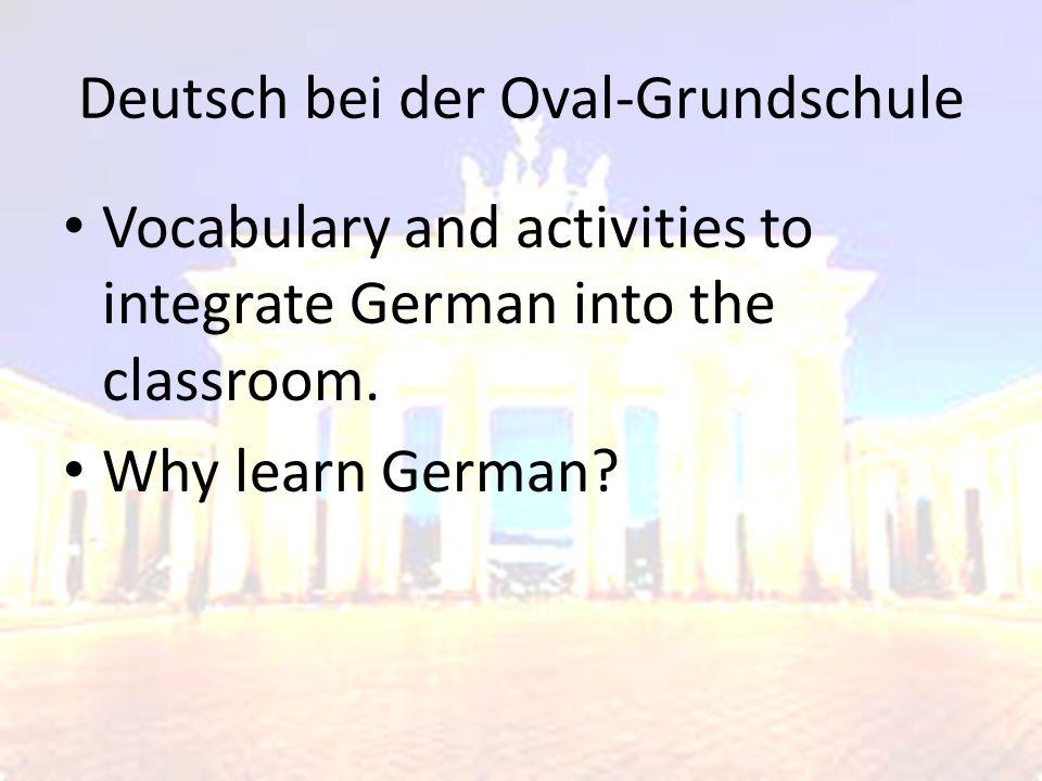 Deutsch bei der Oval-Grundschule