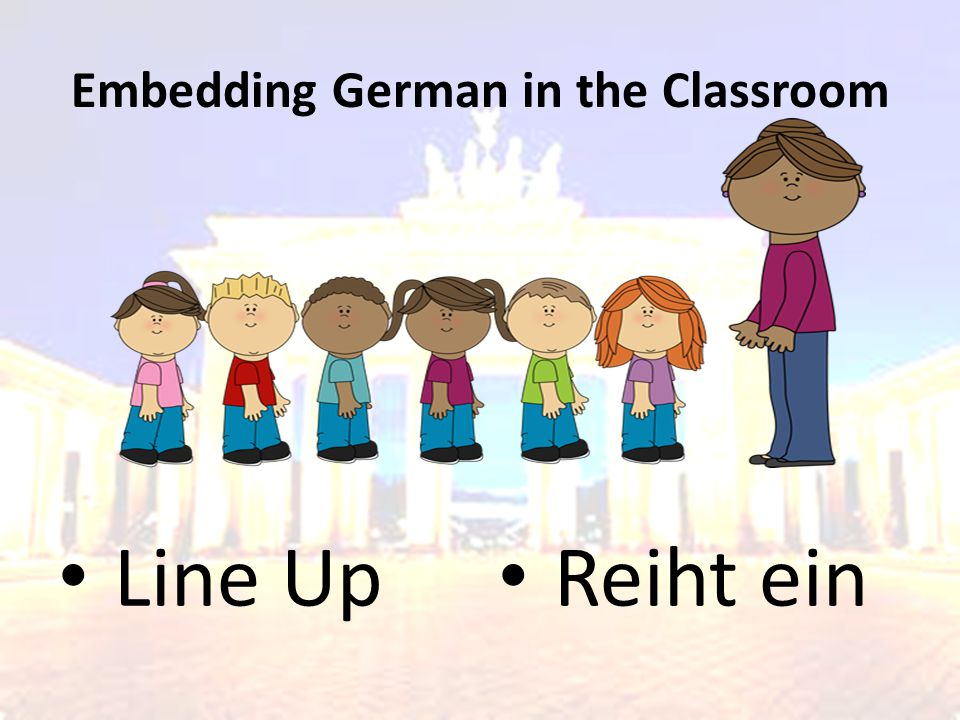 Embedding German in the Classroom