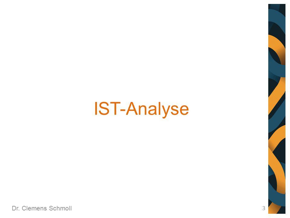 IST-Analyse Dr. Clemens Schmoll