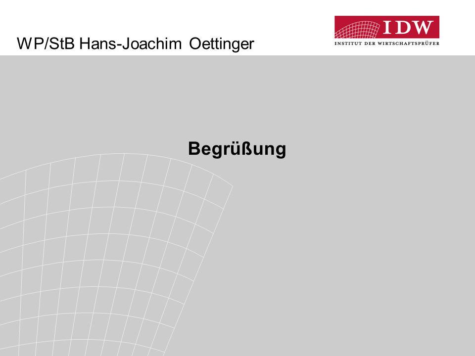 WP/StB Hans-Joachim Oettinger