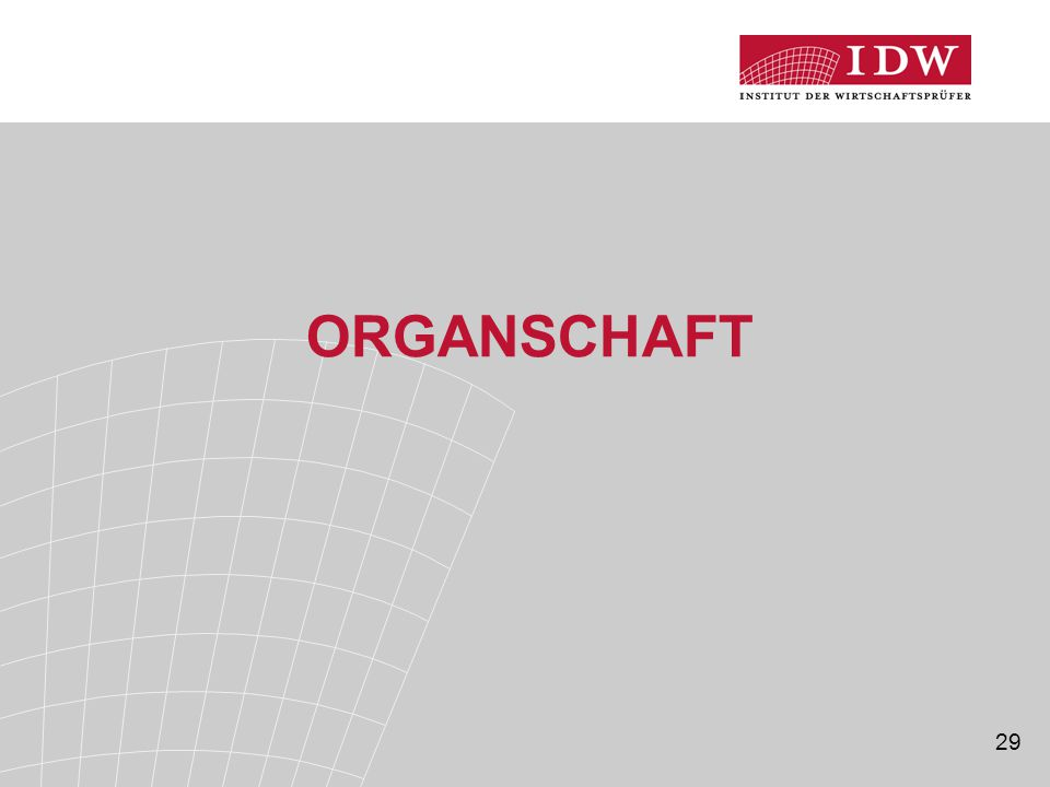 Organschaft