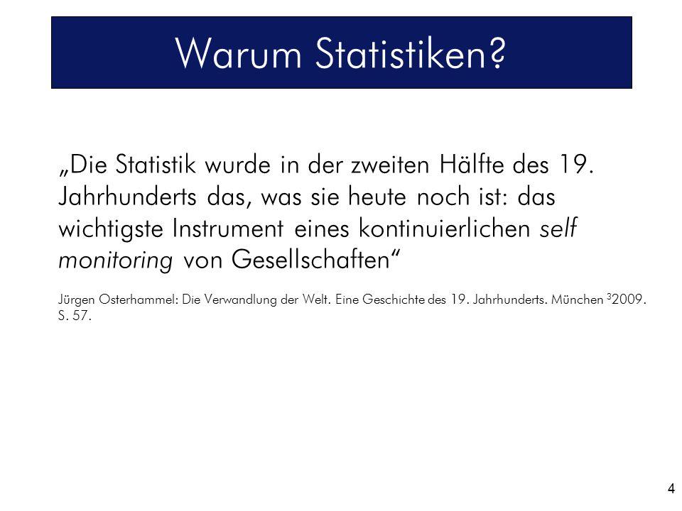 Warum Statistiken