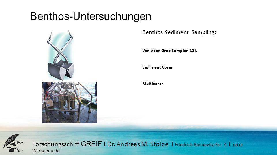 Benthos-Untersuchungen