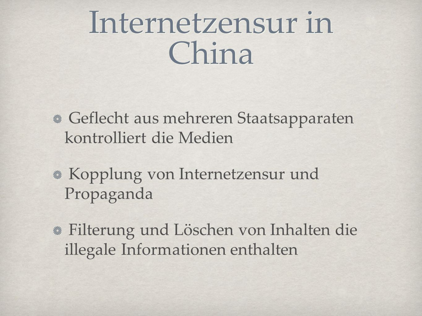 Internetzensur in China