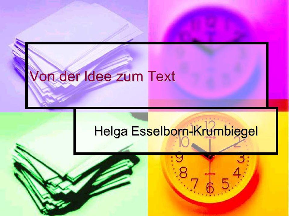 Helga Esselborn-Krumbiegel