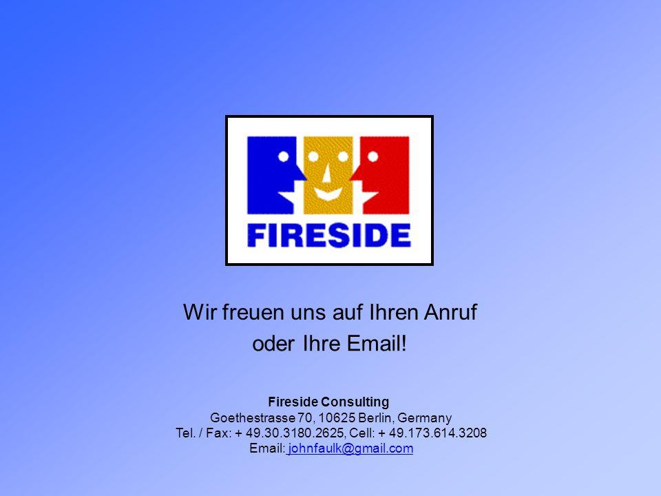 Wir freuen uns auf Ihren Anruf oder Ihre Email!