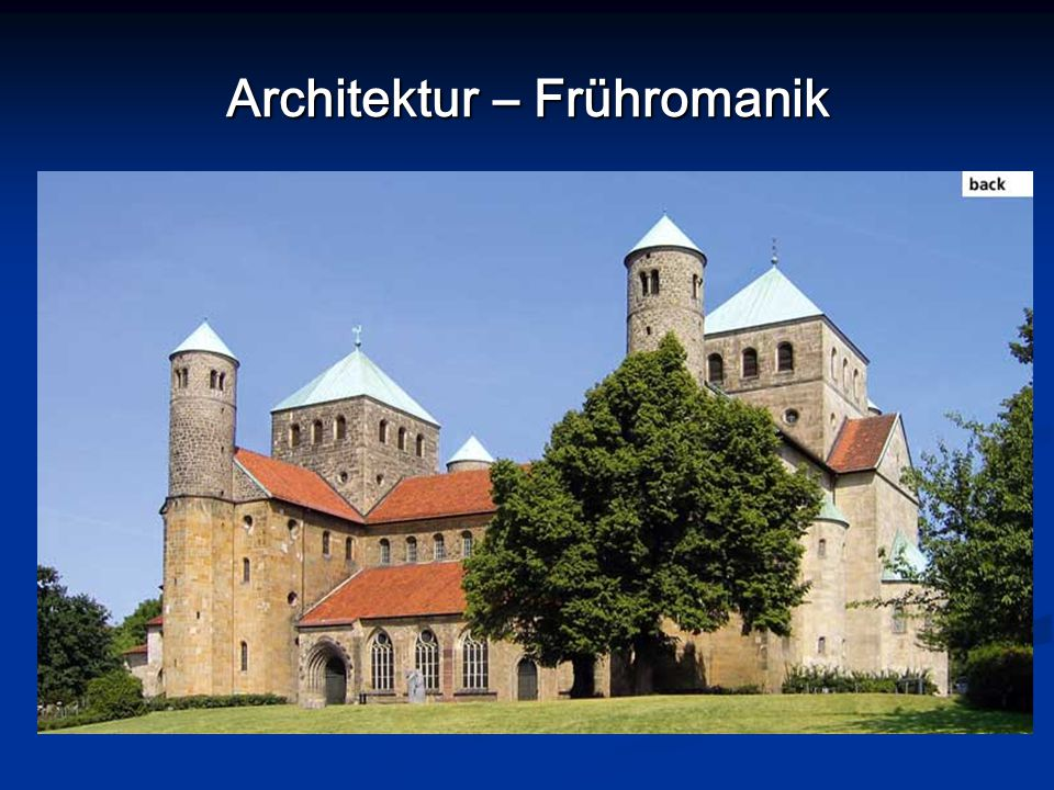 Architektur – Frühromanik