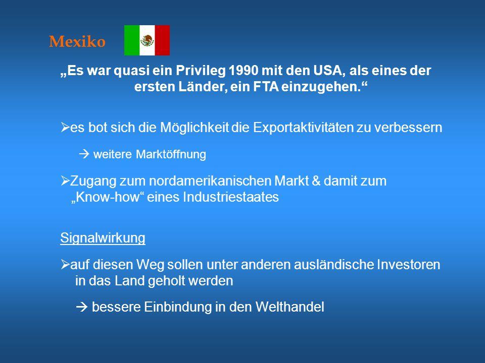 """Mexiko """"Es war quasi ein Privileg 1990 mit den USA, als eines der"""