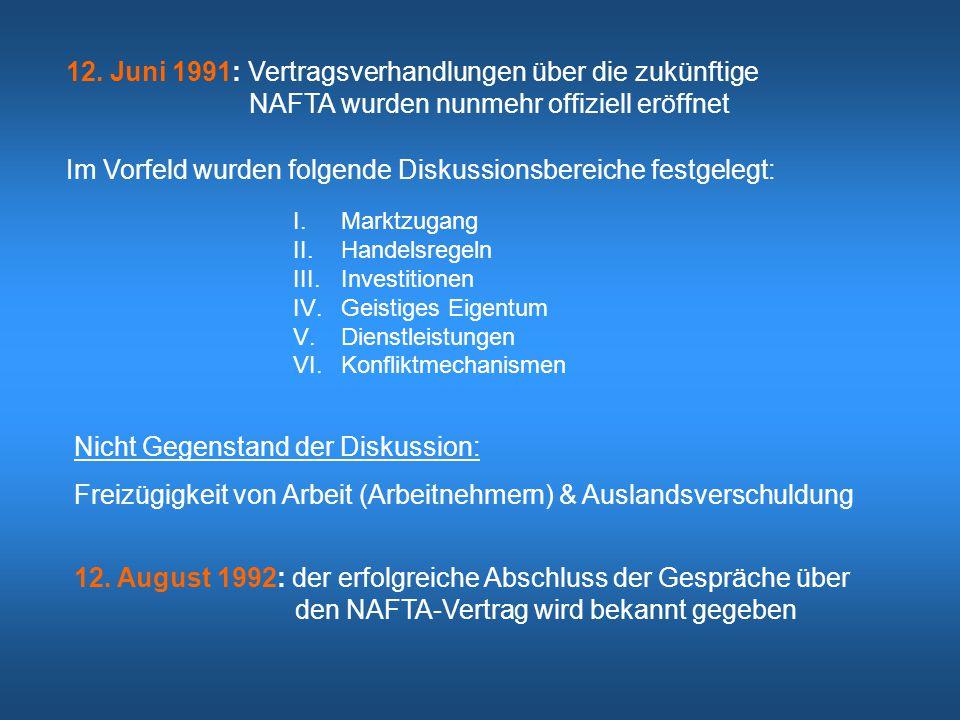 12. Juni 1991: Vertragsverhandlungen über die zukünftige