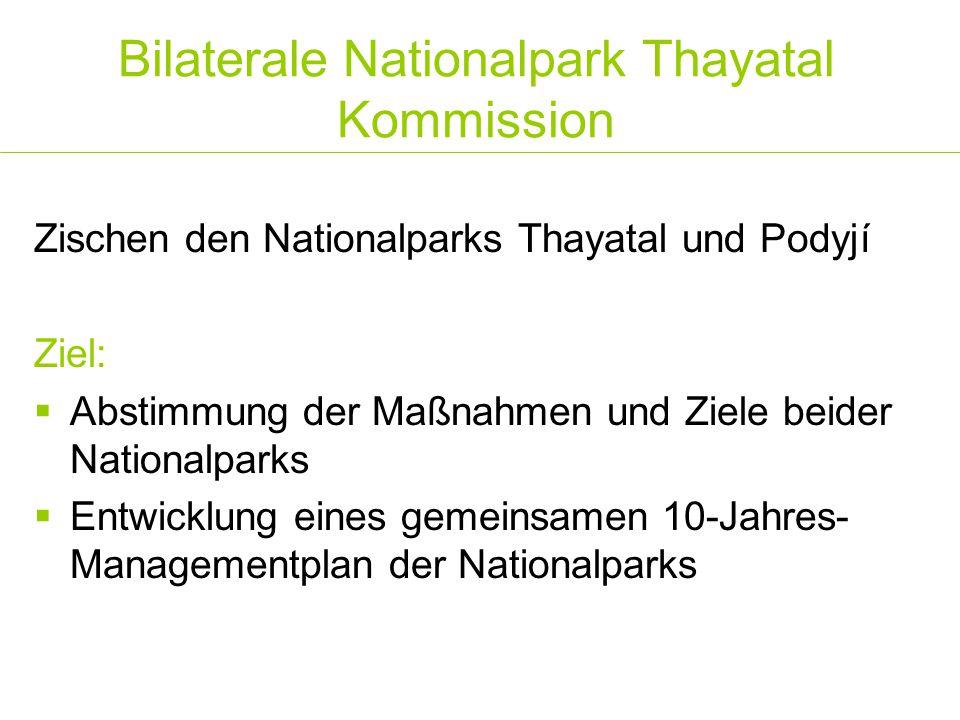 Bilaterale Nationalpark Thayatal Kommission