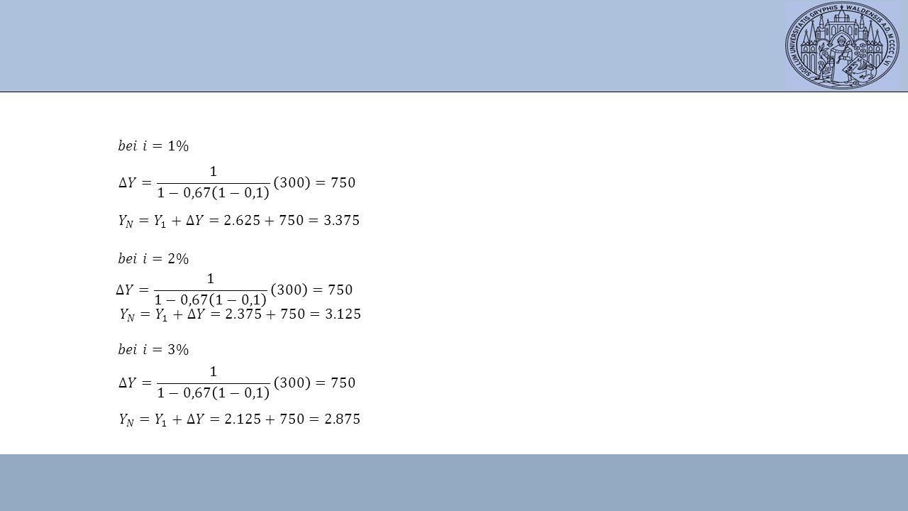 𝑏𝑒𝑖 𝑖=1% ∆𝑌= 1 1−0,67 1−0,1 300 =750. 𝑌 𝑁 = 𝑌 1 +∆𝑌=2.625+750=3.375. 𝑏𝑒𝑖 𝑖=2% ∆𝑌= 1 1−0,67 1−0,1 300 =750.