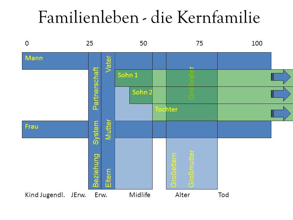 Familienleben - die Kernfamilie